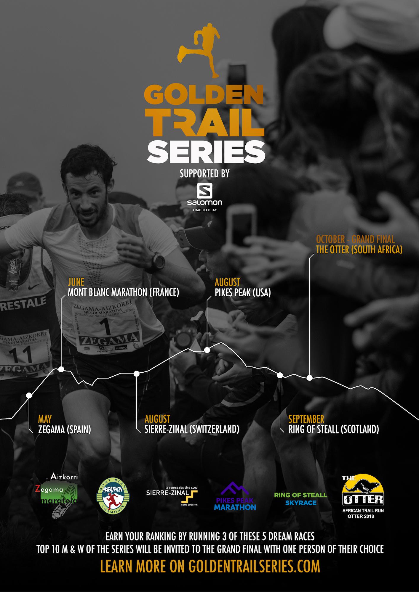 """7dfba4f90 Salomon Announces New """"Golden Trails Series"""" For Trail Running ..."""