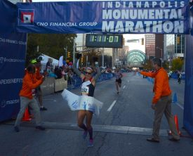 Record Setting Day at CNO Financial Indianapolis Monumental Marathon