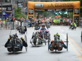 Athletes Ready to Compete in 2018 DICK'S Sporting Goods Pittsburgh Marathon Handcycle Division Presented by PNC Bank