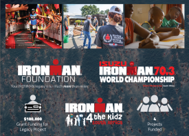 IRONMAN Foundation to support multiple initiatives in South Africa as part of 2018 Isuzu IRONMAN 70.3 World Championship