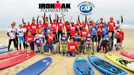 IRONMAN Foundation and Challenged Athletes Foundation Team Up for Junior Seau Adaptive Surf Clinic in Oceanside