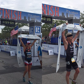 Cameron Dye & Lauren Goss Win St. Anthony's Triathlon