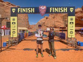 Altra's Ian Sharman Sets Course Record at Antelope Canyon 50