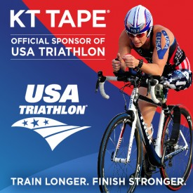 KT Tape Signs on as Exclusive Kinesiology Tape of USA Triathlon Through 2020