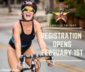 Registration for the 2019 Kerrville Triathlon Festival Opens on February 1st