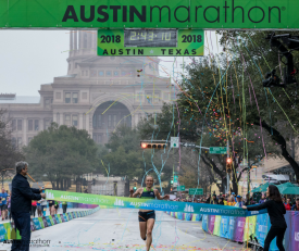 2018 Austin Marathon Showcases New Marathon Course to the World