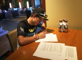 XTERRA Phenom Mauricio Mendez Signs With Muscle Milk®