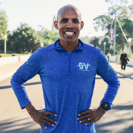 Boston Marathon Champion Meb Keflezighi Takes on Silicon Valley
