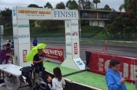 Lapio Achieves World-Class Timing Accuracy at Newport Beach Triathlon