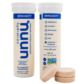 Nuun® Immunity Launches To Hydrate and Restore with Non-GMO Anti-Inflammatories, Antioxidants and Electrolytes