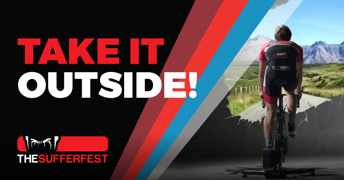 The Sufferfest Releases 67 New Outdoor / Indoor and Event