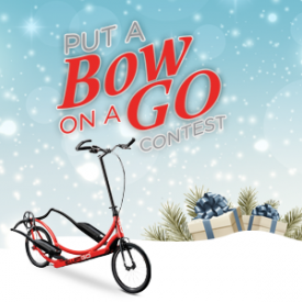 ElliptiGO Unwraps $10,000 In Prizes For Put A Bow On A GO Contest