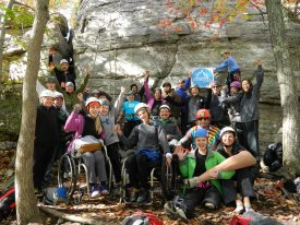 IRONMAN Foundation and Paradox Sports Team Up in Boulder for Adaptive Climbing Clinic and Trail Maintenance