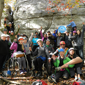 IRONMAN Foundation and Paradox Sports Team Up for the Second Time in Boulder for an Adaptive Climbing Clinic