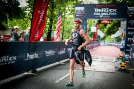 Dye, Kaye Repeat Wins at Johnson & Johnson TriRock Philadelphia Triathlon
