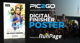 Pic2Go Releases Digital Finisher Poster powered by It's RunPage Platform