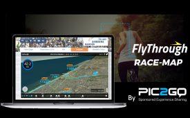 Pic2Go announces release of 3D Interactive FlyThrough Race-Map for races