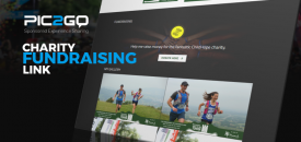 Pic2Go Helps Charity Races Boost Donations with New 'Charity Fundraising Link'