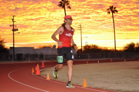 Altra's Zach Bitter Chases World Record for 100 Miles on a Track