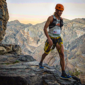 Altra Elite Jason Schlarb Wins Inaugural OMAN by UTMB Trail Race