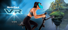Fitness and Fantasy Collide in NordicTrack®'s New Virtual Reality Bike with HTC VIVE FOCUS™