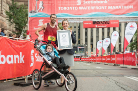 Altra Footwear's Calum Neff Sets World Record for Fastest Marathon Pushing a Stroller