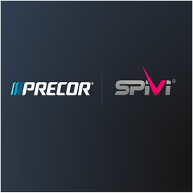 Precor and Spivi Announce Partnership to Bring Immersive Training Experiences to Gyms and Indoor Cycling Studios