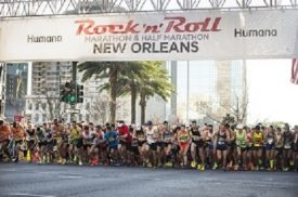 More Than 20,000 Runners are Ready to  Rock 'n' Roll in New Orleans