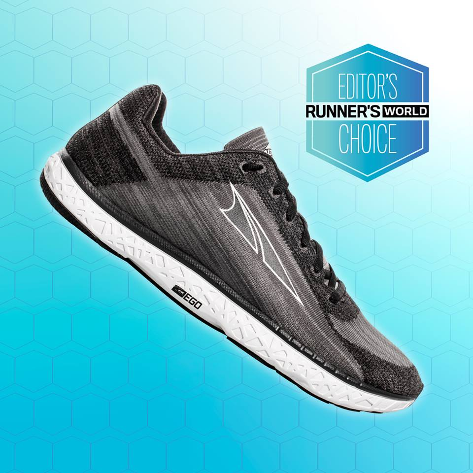 "dab61cf53226b Runner's World Awards ""Editor's Choice"" to Altra Footwear's ..."