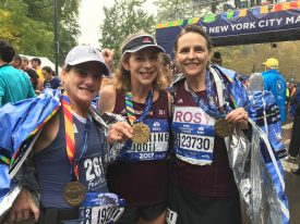 Running Legend Kathrine Switzer Completes 2017 TCS New York City Marathon Leading 261 Fearless Team Representing Network of Dedicated Runners