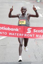 Philemon Rono to Defend Scotiabank Toronto Waterfront Marathon Title