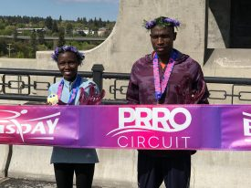 Geay, Wanjiru Win PRRO Championship at Lilac Bloomsday Run 12K