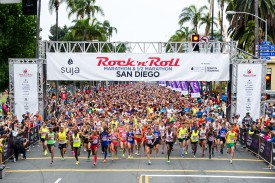 Suja Rock 'n' Roll San Diego Revamps Half Marathon Course