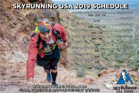 The US Skyrunner Mountain Running Series 2019 Schedule Released