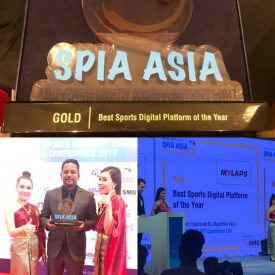 Sport Industry Award for MYLAPS EventApp