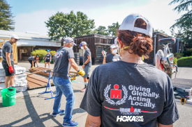 IRONMAN Foundation and HOKA ONE ONE Join Forces to Continue California Wildfire Relief Efforts