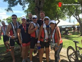 Life Time Tri Partners with Save the Children to Grow Sport of Triathlon, Raise Funds for Children in Need