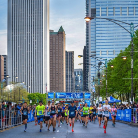 BibRave Delivers Hundreds of Runners to  the 12th Annual Byline Bank Chicago Spring Half Marathon and 10K