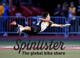 Spinlister And Ultimate Disc: This Ain't Your Grandfather's Frisbee League