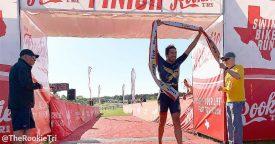 Rookie Triathlon's Sweet 16 a Smashing Success
