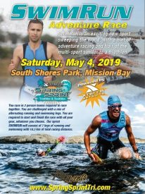 KOZ Events Announces New SwimRun Event at XTERRA WETSUITS Spring Sprint Triathlon Festival May 4-5, 2019