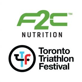 F2C Nutrition Partners with the Toronto Triathlon Festival as the Official On-Course Hydration and Recovery Nutrition Provider