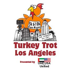 Turkey Trot Los Angeles Presented by UAE-USA United returns to Downtown LA and Grand Park on Thanksgiving