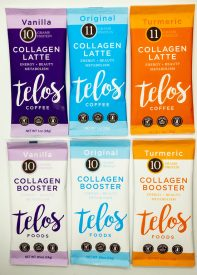 Telos Foods Launches with Collagen Coffee Lattes and Collagen Boosters