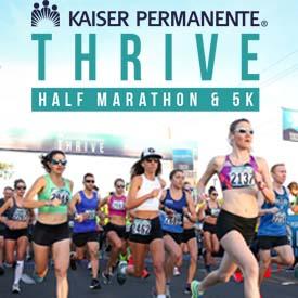 Point-to-Point Kaiser Permanente Thrive Half Marathon Returns to San Diego