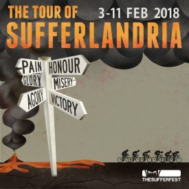 The Sufferfest Announces Route for the 2018 Tour of