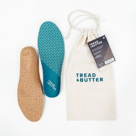 Tread and Butter cork insoles break step with industry convention