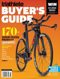 Triathlete's 2019 Buyer's Guide Features the Next Generation of Tri Gear, Distilled
