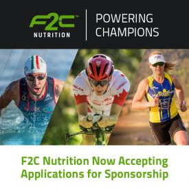F2C Nutrition Inc. Opens Up SpoAnsorship Opportunities for 2018
