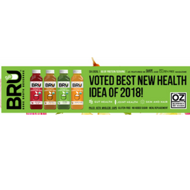 Dr. OZ Awards BRU Broth Best New Health Idea of 2018